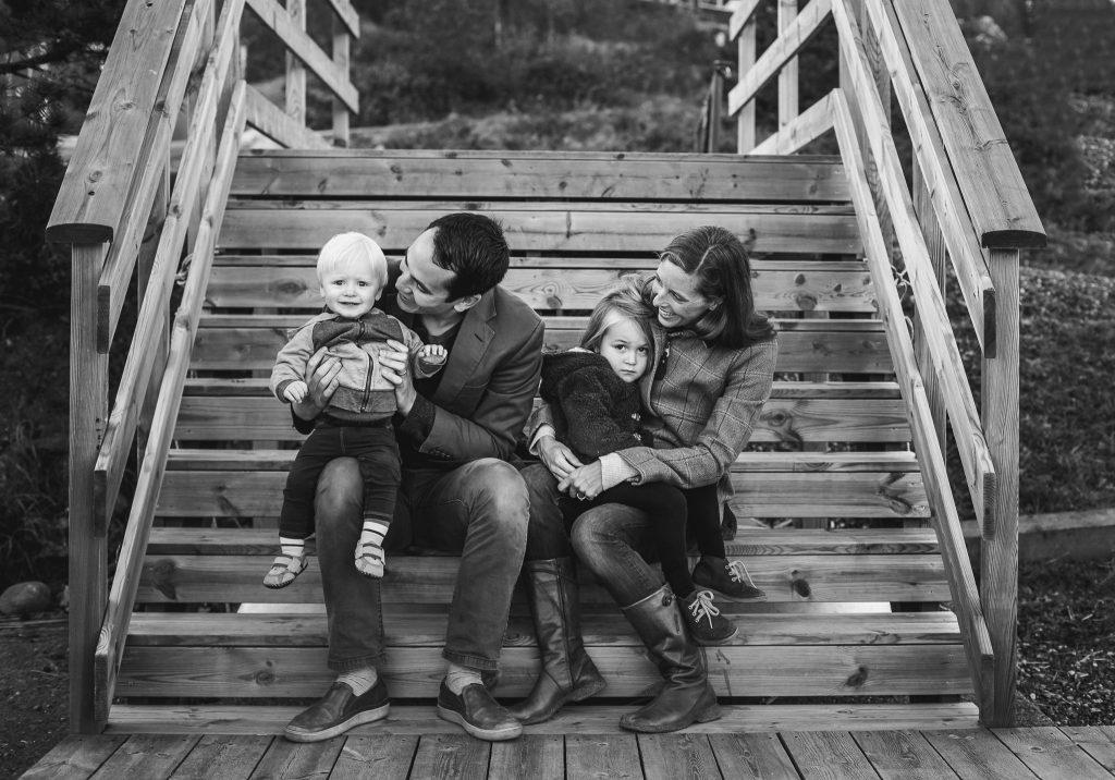 Watson Elliott family pouting