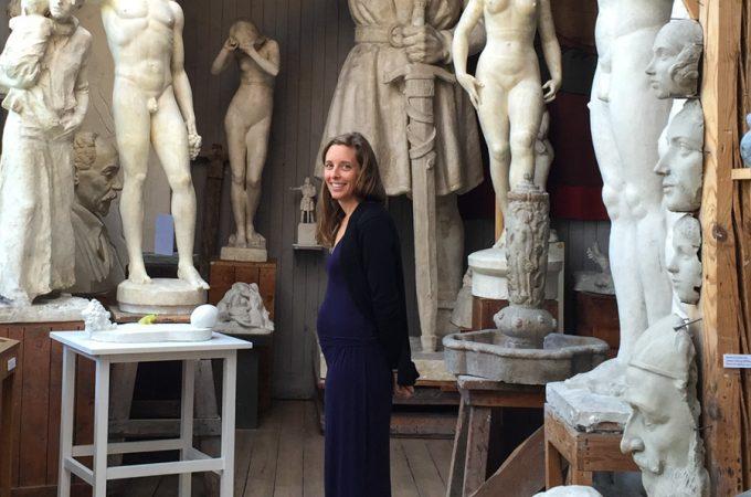 Jodi-pregnant-carl-eldhs-studio-museum