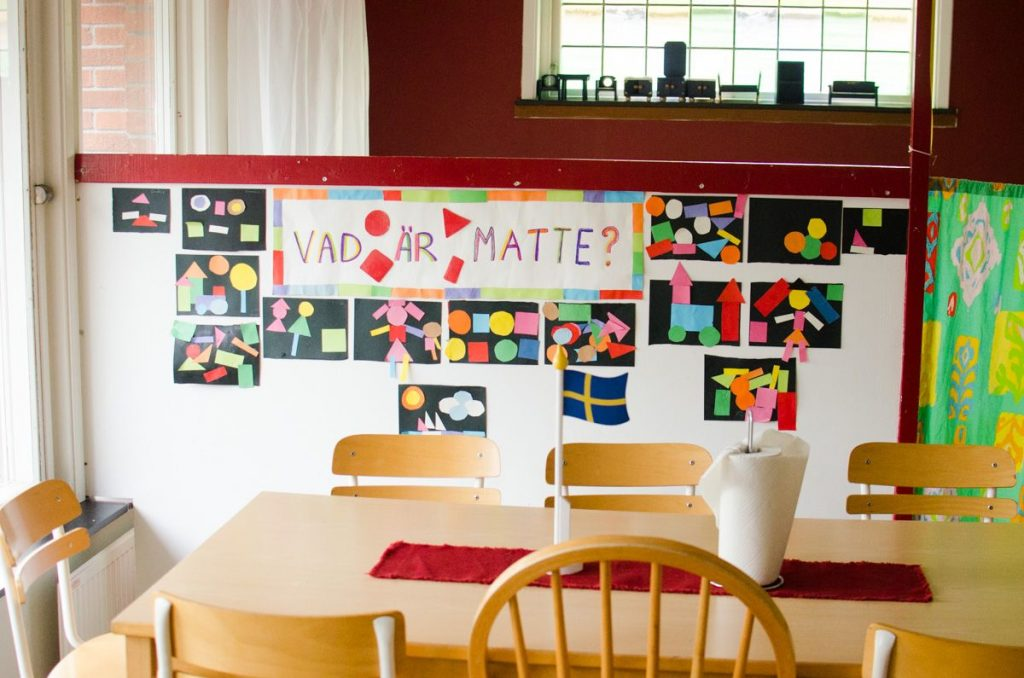 preschool-in-sweden-art-wall