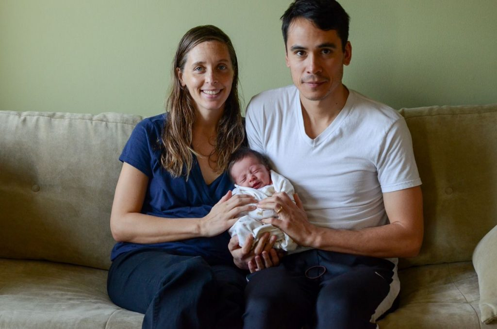 Family portrait August newborn
