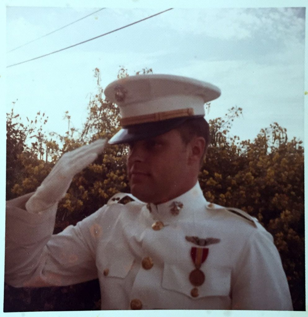 Bill as Marine