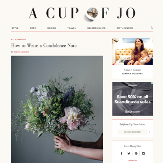 The Blog that Made Me Want to Blog - A Cup of Jo