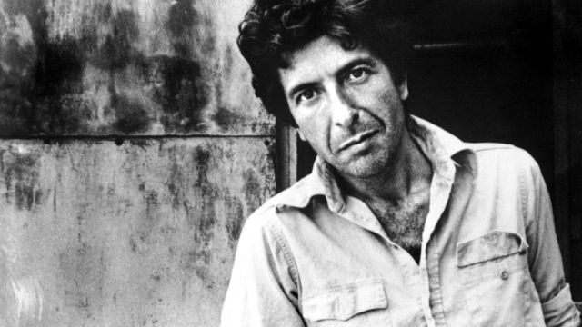 Young Leonard Cohen