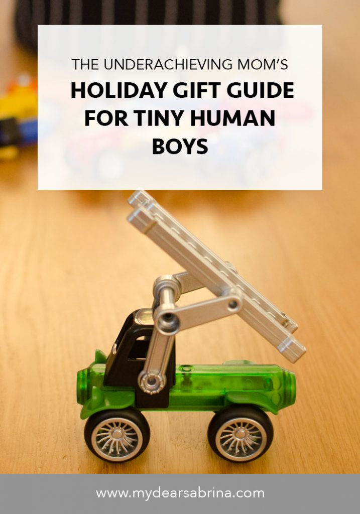 Dear Sabrina Holiday 2016 Gift Guide for young boys