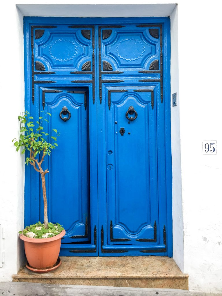 Frigiliana door