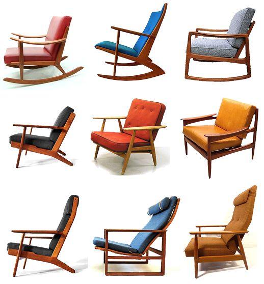 Classic Scandinavian Design armchairs