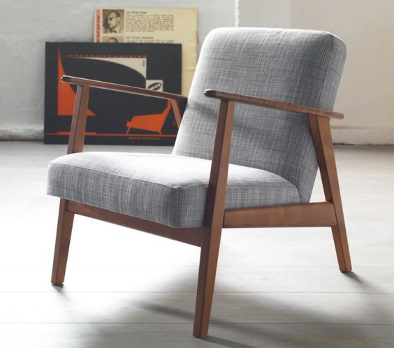 Classic Scandinavian Design, Ikea midcentury modern armchair