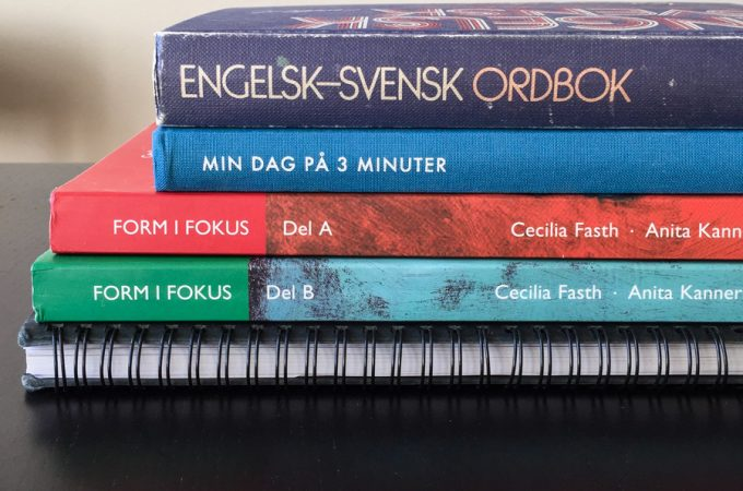 Swedish exercise books