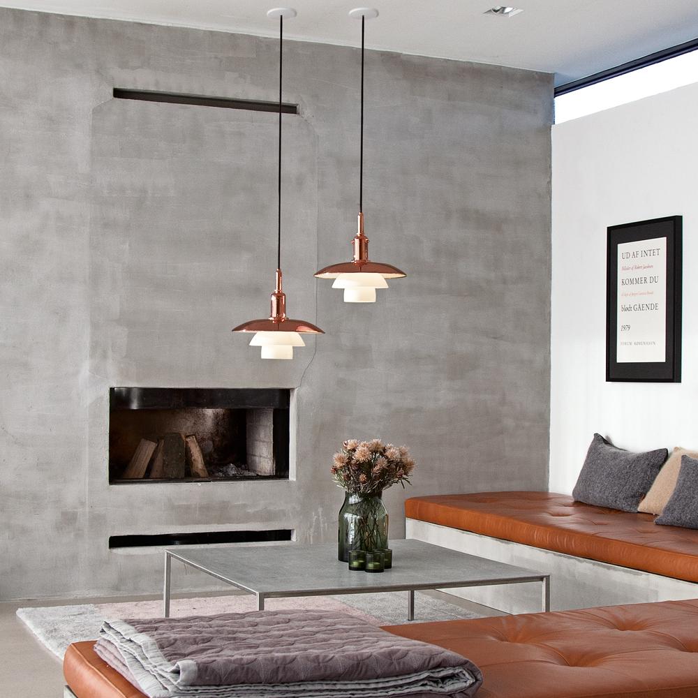 Classic Scandinavian Design, Louis Poulson pendant lamps