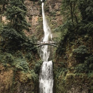 Multnomah Falls near Portland, Oregon