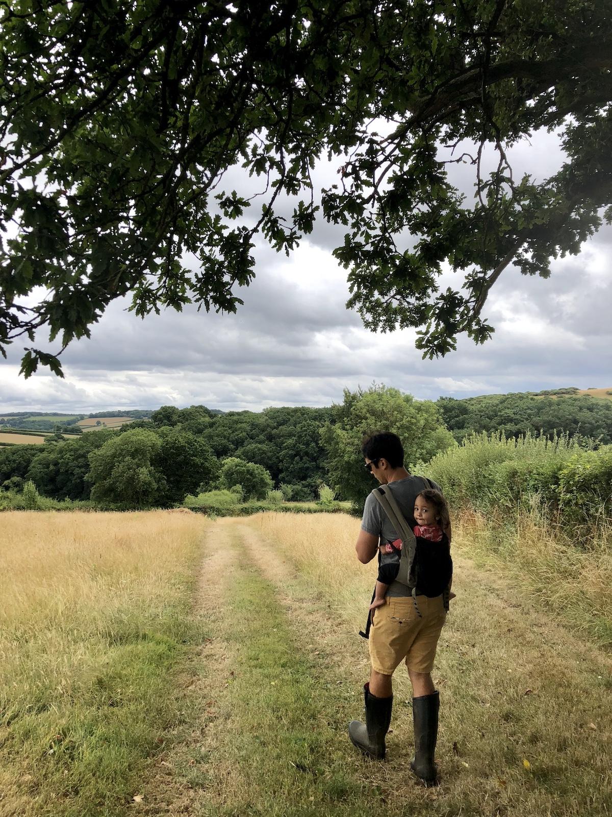 Hiking around Devon