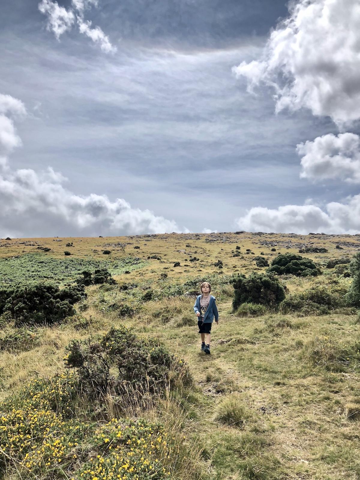 Coming down Dartmoor