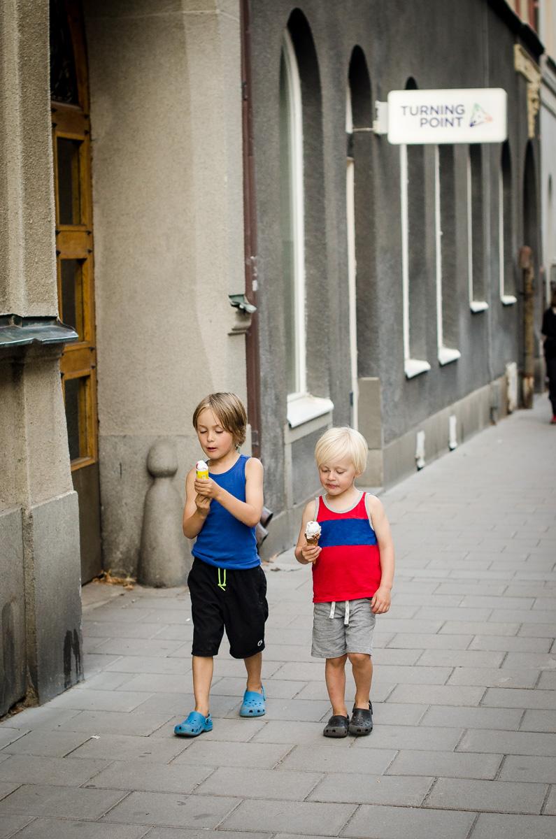 Ice cream in Stockholm