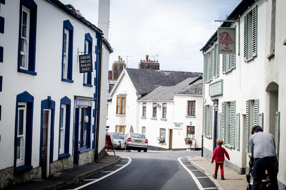 Street scene in Chulmleigh