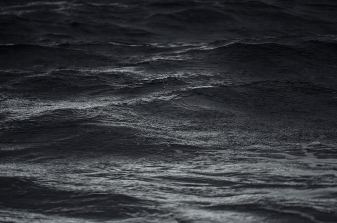 surface of dark water