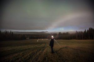 Northern lights in Sweden by Craig Allen
