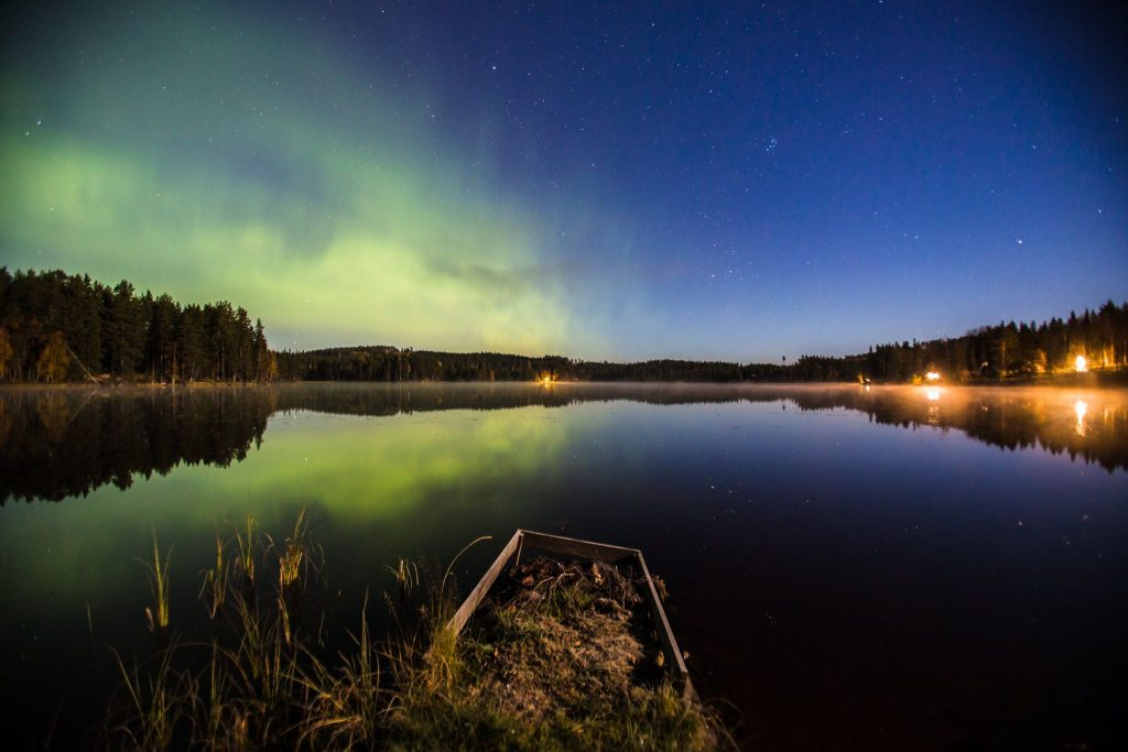 Northern lights in Sweden by Craig Allen