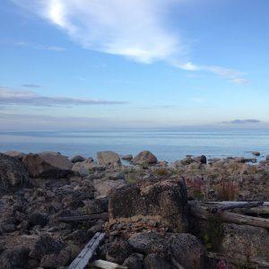 baltic sea and rocks