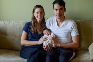 Family portrait August newborn