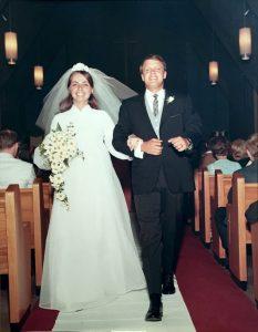 Bill and Jan wedding