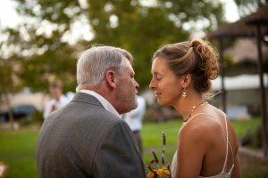 Bill and Jodi at Jodi's wedding