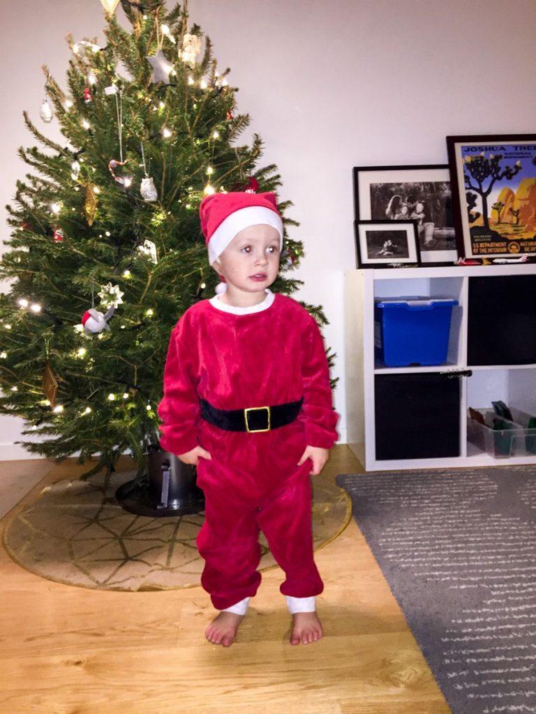 Leif as jultomte