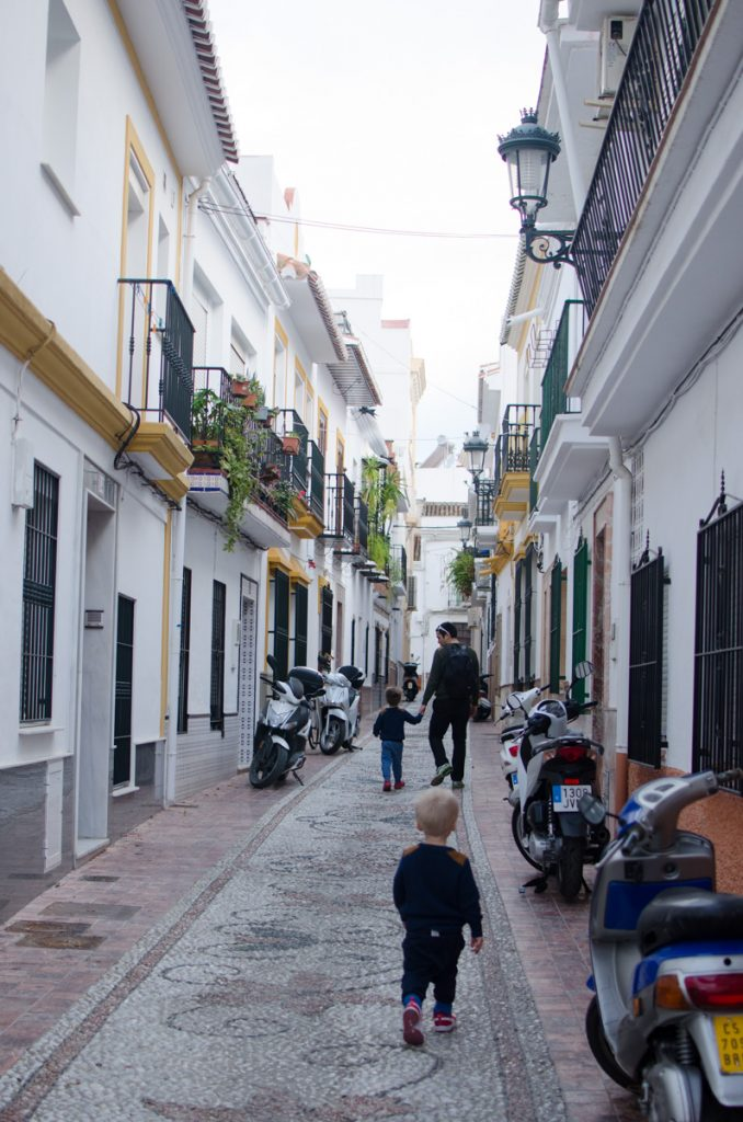 Walking the streets of Nerja
