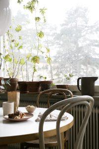Ikea Sinnerlig pitcher in windowsill