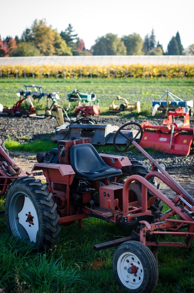 Tractors at Denison Farms