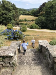 Two boys at Gidleigh Park